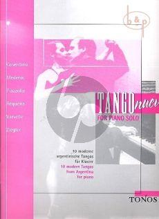 Tango Nuevo Piano solo