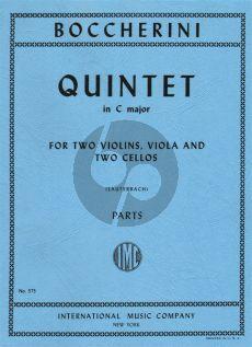 Quintet C-major G.349