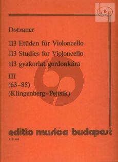 Studies Vol.3 (No.63 - 85)