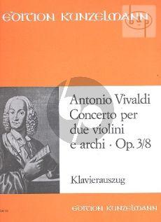 Concerto a-minor Op.3 No.8 (RV 522) (L'Estro Armonico) (2 Vi.-Str.-Bc)