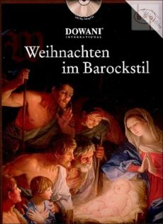 Weihnachten im Barockstil (Treble Rec.-Piano) (Bk-Cd) (Dowani with Play-Along CD)