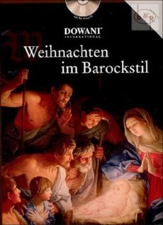 Weihnachten im Barockstil (Violoncello-Piano) (Bk-Cd) (Dowani with Play-Along CD)