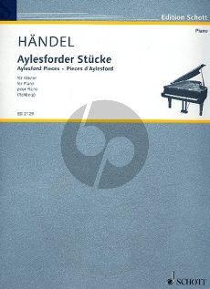 Handel Aylesforder Stucke Ed. Willy Rehberg