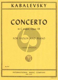 Kabalevsky Concerto C-major Op.48 Violin-Orch. (piano red.)