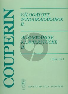 Couperin Selected Piano Pieces Vol.2 (Selection and notes by Bartok)