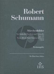 Schumann Marchenbilder Op.113 (4 Stucke) (Transcr. Piatti and Bellisario) (Urtext - Erstausgabe)