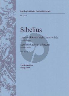 Sibelius Lemminkainen zieht Heimwarts Op.22 No.4