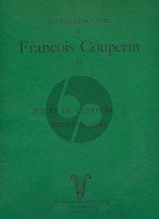 Couperin Pieces de Clavecin Vol.2 (Cauchie-Gilbert)