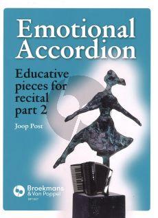 Joop Post Emotional Accordion deel 2 (Educative pieces for recital)