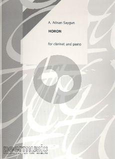 Saygun Horon (Klarinette-Klavier)