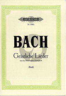 Bach 25 Geistliche Gesange
