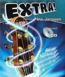 Jansen Extra! Gitaar (Meer dan 100 Songs als supplement bij de meest gangbare Gitaarmethodes) (Bk-Cd)