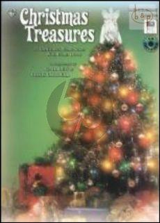 Christmas Treasures (Piano Solo-Duet) (Bk-Cd)