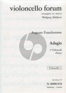 Franchomme Adagio G-dur 2 Violoncellos (ed. Wolfgang Mehlhorn)