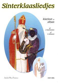 Sinterklaasliedjes (Klarinet en Altsax.) (2 Klar.of 2 Altsax) (arr.W.Poot) (zeer eenv.)