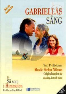 Gabriellas Sang (Solo Voice-SATB-Piano)