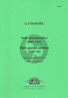 Handel Nell'Africane selve - Dalla guerra amorosa (Bass-Bc)