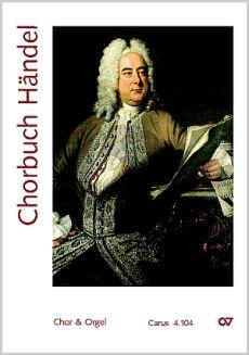 Chorbuch Handel (SATB-Orgel)