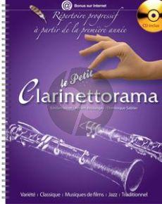 Veret-Boulanger Le Petit Clarinettorama (Livre-CD)