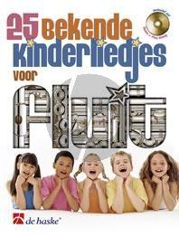 25 Bekende Kinderliedjes Fluit (Bk-Cd)