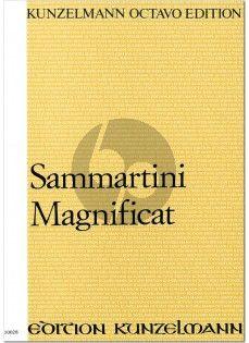 Sammertini Magnificat (Soli-SATB-Orchestra and Organ) (Fullscore)