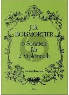 Boismortier 6 Sonaten (edited by Arpad Pejtsik)