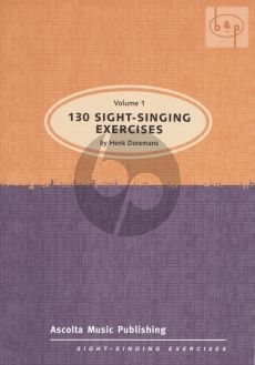 130 Sight Singing Exercises Vol.1