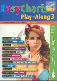 Easy Charts Play-Along Vol.3