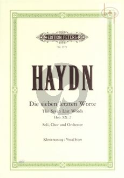 Die 7 Letzten Worte unseres Erlosers am Kreuze (Hob.XX:2 (Soli-Choir-Orch.) (Vocal Score)