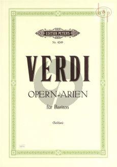 Ausgewahlte Opern-Arien (Bariton)