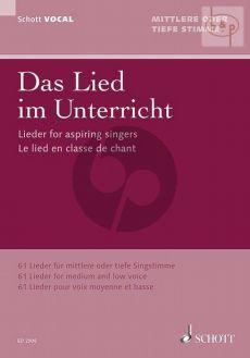Das Lied im Unterricht Mittel/Tief (Lohmann)