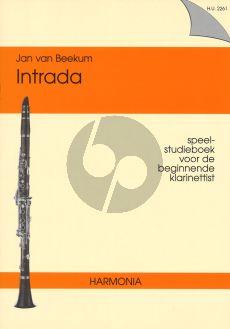 Beekum Intrada Klarinet (Speel- studieboek voor de beginnende klarinettist)