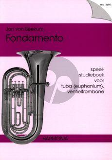Fondamento (Speel- Studieboek Tuba [Euphonium]