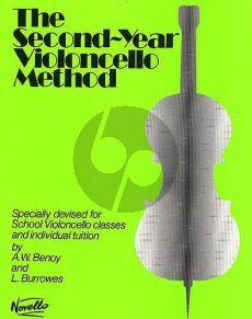 Second Year Cello Method