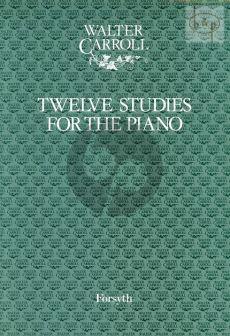 Carroll Twelve Studies for Piano