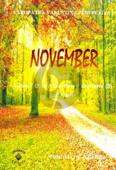 Perepelita November für Violine (Flöte/Oboe/Klarinette) und Klavier