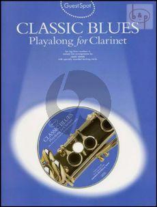 Guest Spot Classic Blues Playalong Clarinet