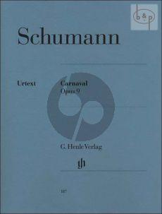 Carnaval Opus 9 Klavier (edited by Ernst Herttrich)
