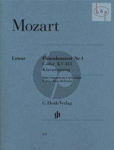 Konzert G-dur KV 313 (285C) Flöte und Klavier