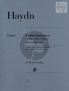 Haydn Concerto D-major (Hob.VIIb:2) Violoncello-Orchestra (piano red.) (edited by Sonja Gerlach)