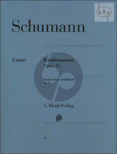 Schumann Kinderszenen Op.15 Piano (Ernst Herttrich) (Henle-Urtext)