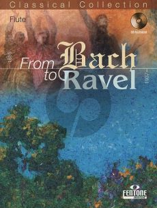 From Bach to Ravel for Flute (Bk-Cd) (Peter Manning)