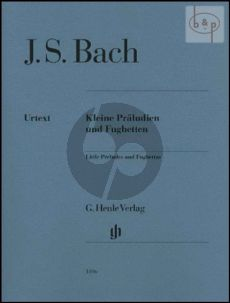 Bach Kleine Praeludien & Fughetten (without fingering!!)