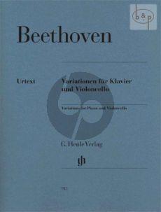 Variationen (WoO.45 -Op.66 -WoO.46) (edited by Jens Dufner)