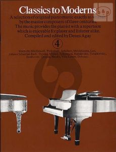 Classics to Moderns Vol.4
