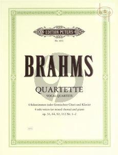 Quartets op.31 - 64 - 92 - 112 no.1 - 2