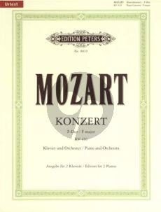 Mozart Konzert F-dur KV 459 Klavier-Orch. 2 Klaviere