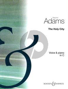 Adam The Holy City Medium-High Voice (C)-Piano