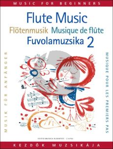Flute Music for Beginners Vol. 2 (edited by Vilmos Bántai and Imre Kovács)