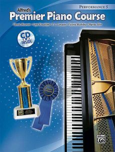 Premier Piano Course Performance Book 5 (Bk-Cd)